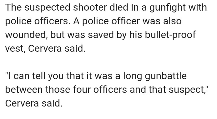 Virginia Beach Shooter Supposedly Killed in Gunfight